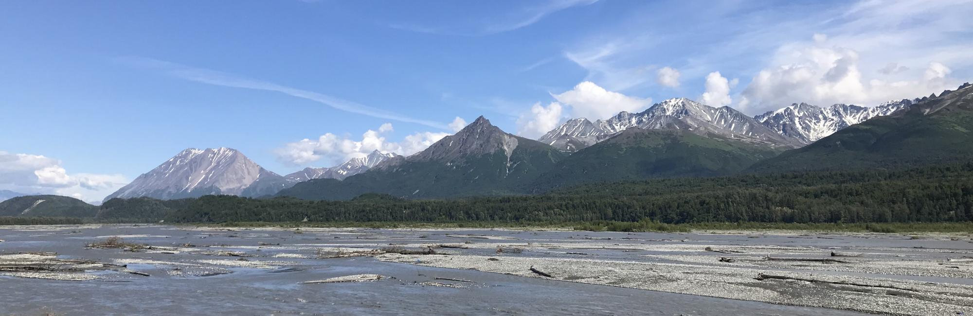 The Matanuska River near Chickaloon, Alaska